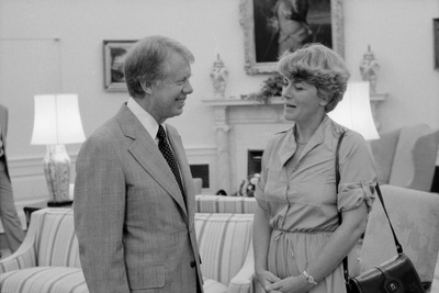 President Jimmy Carter with Congresswoman Geraldine Ferraro, Ca. 1979 Photo