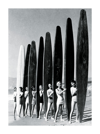 Surfin' Gals 高画質プリント :  The Chelsea Collection