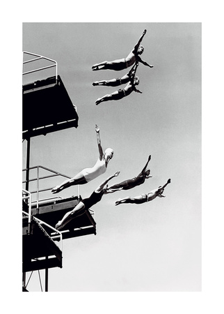 High Dive Posters by  The Chelsea Collection