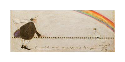 I Would Wait My Whole Life for You Giclee Print by Sam Toft