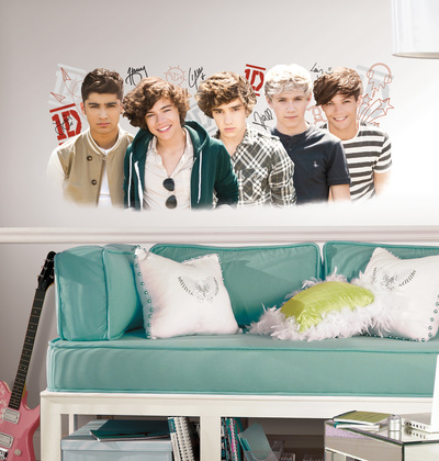 One Direction 1D Peel and Stick Wall Graphix Wall Decal