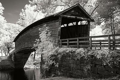 Old Covered Bridge II Photographic Print by Alan Hausenflock