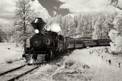 Black Hills RR II Photographic Print by George Johnson