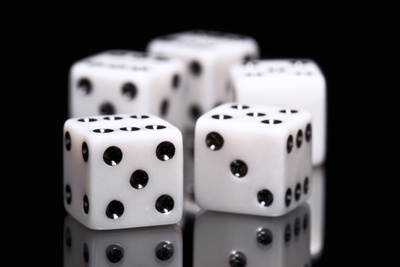 Dice I Photographic Print by C. McNemar