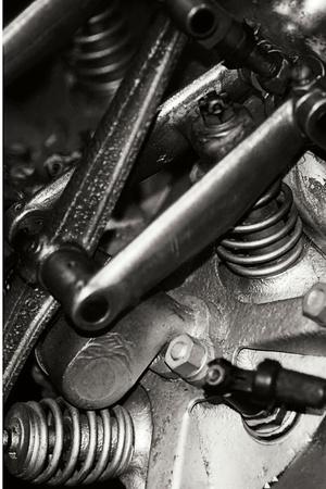 Engine IV Photographic Print by Alan Hausenflock
