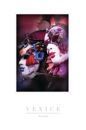 Mascarada II Photographic Print by John Warren
