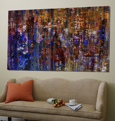 City Scene Abstract Posters by  Jefd
