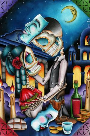 Masquerade Prints by Dave Sanchez