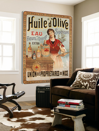 Huile d'Olive Print by  Studio Clicart