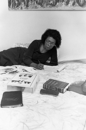 Maya Angelou Photographic Print by Moneta Sleet Jr.