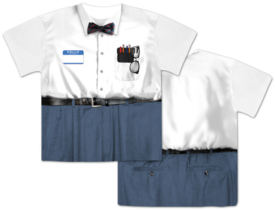 Nerd Costume Tee Shirts