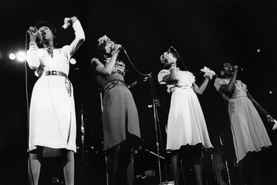 Pointer Sisters, 1973 Photographic Print by Norman L. Hunter