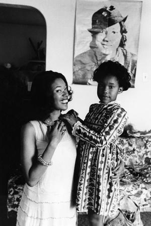 Pointer Sisters, Anita Pointer Photographic Print by Moneta Sleet Jr.