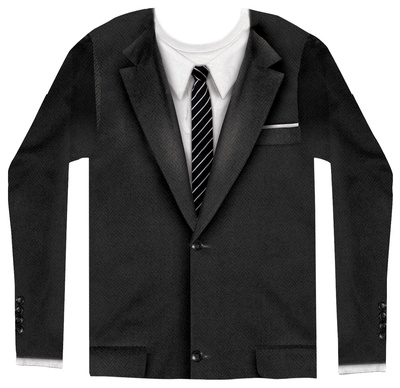 Long Sleeve: 1960's Suit Lange ærmer