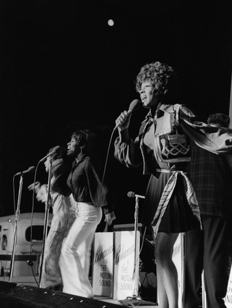 Martha Reeves, 1972 Photographic Print by Norman L. Hunter