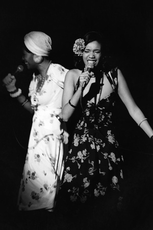 Pointer Sisters Photographic Print by Moneta Sleet Jr.