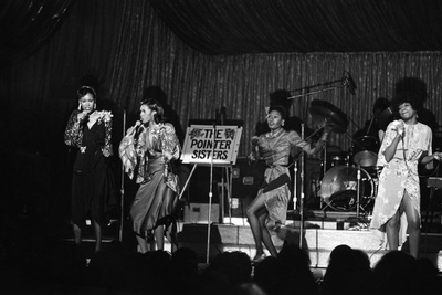 Pointer Sisters, 1973 Photographic Print by Moneta Sleet Jr.