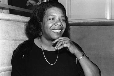 Maya Angelou Photographic Print by James Mitchell