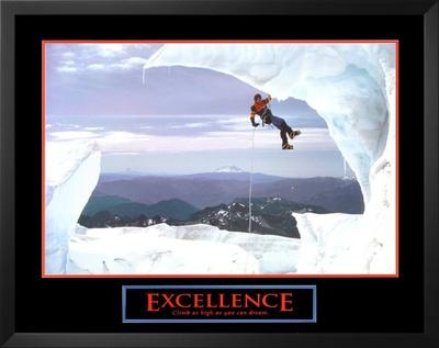 Excellence: Snow Climber Prints