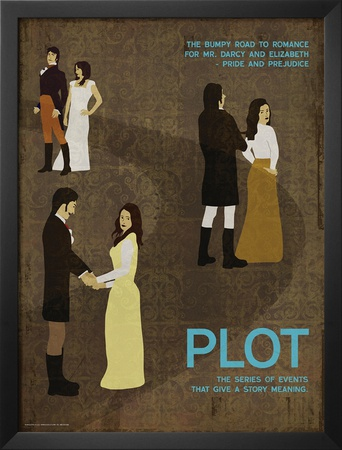Plot (Pride And Prejudice) - Element of a Novel Posters by Christopher Rice