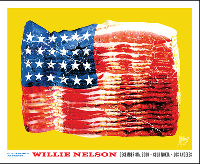 Willie Nelson Prints by Kii Arens