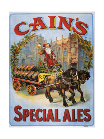 1900s UK Cain's Poster Giclee Print
