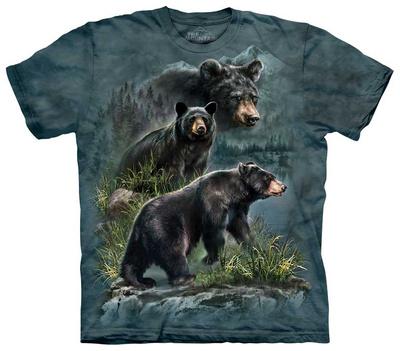 Three Black Bear T-shirts