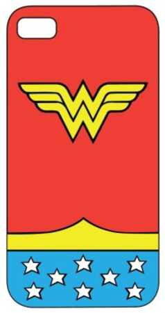 Wonder Woman iPhone case insignia art design