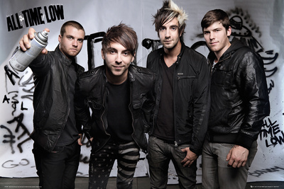 All Time Low - Spray Plakater