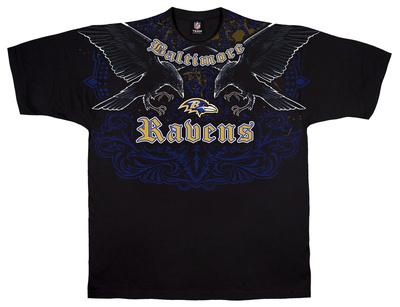 NFL: Ravens Face Off Shirts