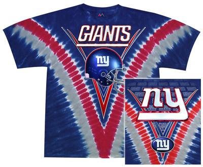 NFL: Giants Logo V-Dye Shirts