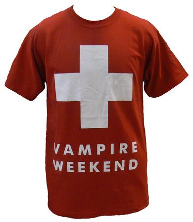 Vampire Weekend - Red Ski Patrol T-shirts