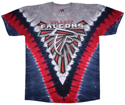 NFL: Falcons Logo V-Dye Shirts