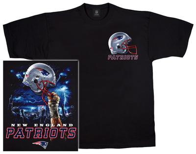 NFL: Patriots Logo Sky Helmet Shirts