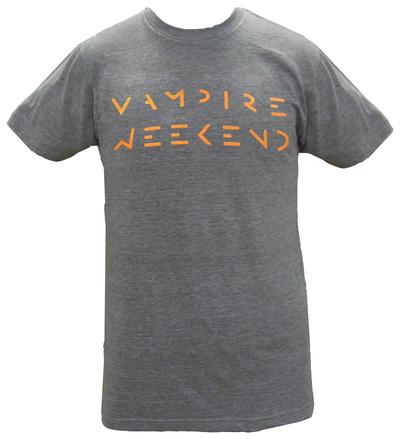 Vampire Weekend - Orange Logo Shirts