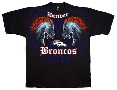 NFL: Broncos Face Off Shirts