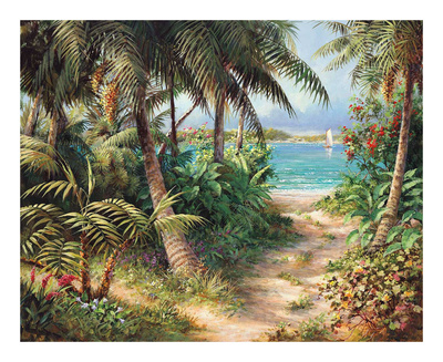 Bahama Sail Prints by Art Fronckowiak