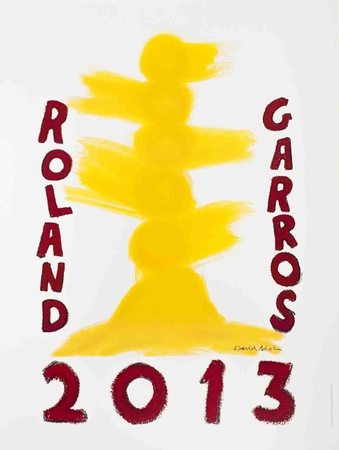 Roland Garros, 2013 Collectable Print by David Nash