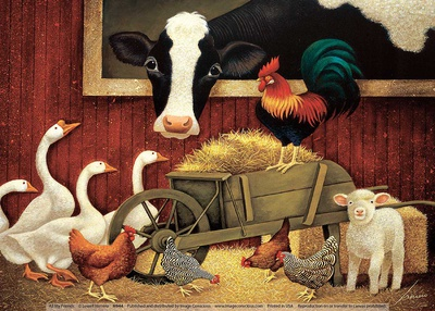All My Friends Posters by Lowell Herrero