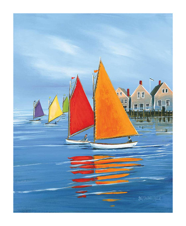 Mariner's Landing Prints by Sally Caldwell-Fisher