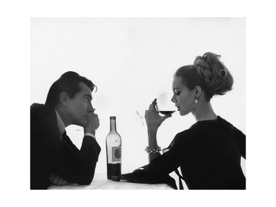 Vogue - April 1962 Lámina fotográfica por Bert Stern