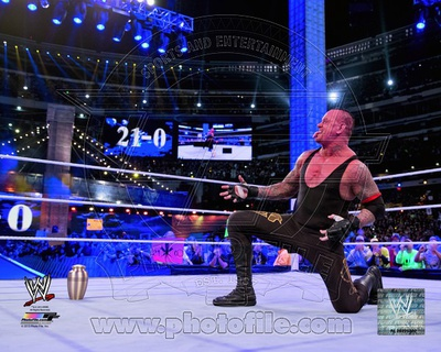 The Undertaker Wrestlemania 29 Action Photo