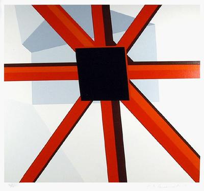 Squared Star Eksklusivudgaver af Allan D'Arcangelo