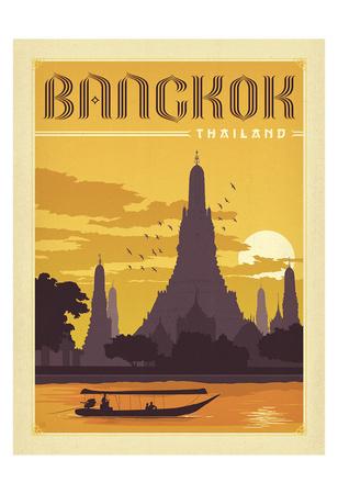Bangkok, Thailand Sanatsal Reprodüksiyon