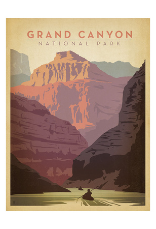 Grand Canyon nationalpark Posters av  Anderson Design Group