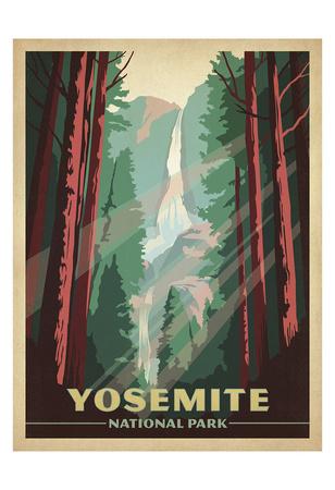 Yosemite National Park Konst av  Anderson Design Group