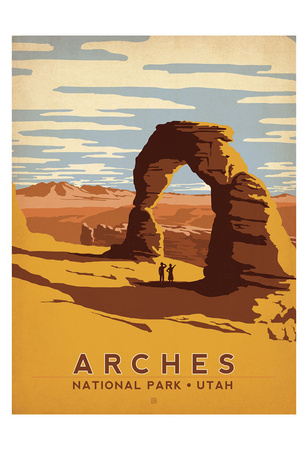 Arches National Park, Utah Posters by  Anderson Design Group