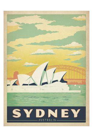 Sydney, Australia Prints by  Anderson Design Group