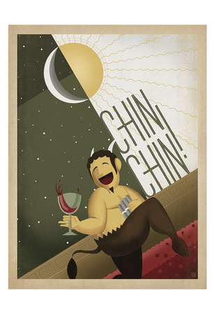Chin Chin! Print by  Anderson Design Group