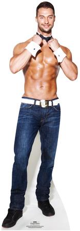 Chippendale James Davis - Cuff N' Collar Lifesize Standup Figura de cartón